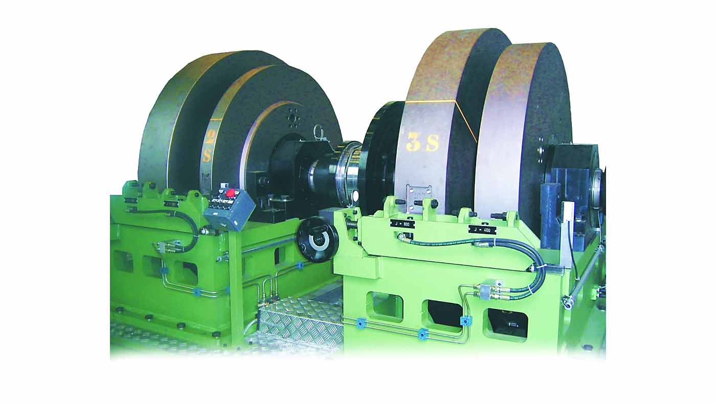 Testing Machine of complete brake units for trucks