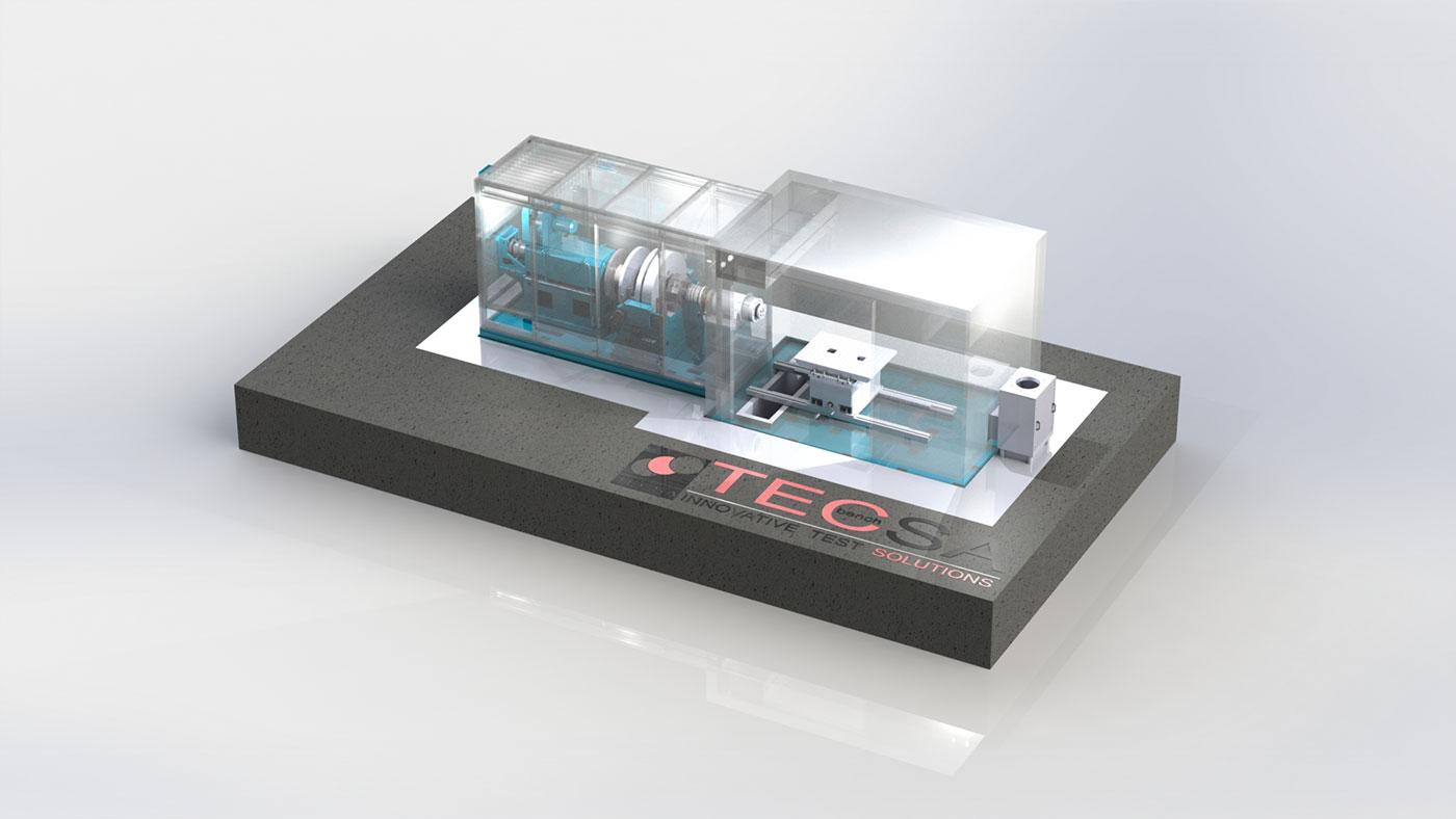 Dinamometro con tre volani TecSA TC 225